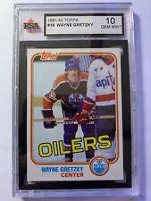 1981-82 Topps Wayne Gretzky KSA 10 #16 Hockey Card!  Perfect Gem Mint