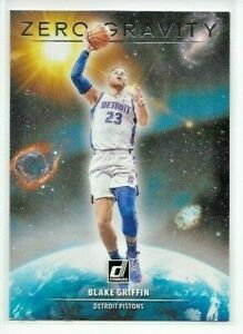 2020-21 Donruss BLAKE GRIFFIN Zero Gravity INSERT Card No. 10 Pistons