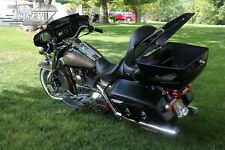 Tsukayu HD Style Tour Pack with Audio System For Harley Roadking (Black)