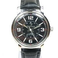 Vintage Tressa Hand Winding Movement Analog Dial Wrist Watch For Mens F243