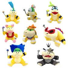 8X Super Mario Plush Bowser Koopa Kids Baby Jr Koopalings Larry Lemmy Ludwig Roy