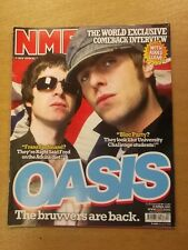NME APRIL 30 2005 BLOC PARTY LIAM GALLAGHER OASIS FRANZ FERDINAND THE KILLERS