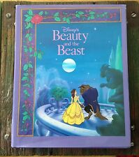 Walt Disney Beauty and the Beast Hardcover Illustrated book 1991