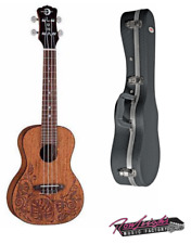 Luna Mo Mah Concert Ukulele with Mahogany Body and Deluxe Hardcase