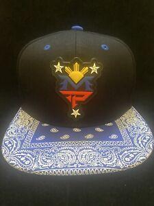 Manny Pacquiao MP Philippines Filipino hat Bandana Traditional brim SNAPBack 4