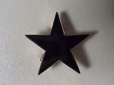 DAVID  BOWIE - BLACKSTAR - LAPEL BADGE - ALL-IN-ONE PIN - ENAMEL - ART ROCK