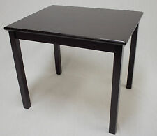Kids Solid Hard Wood Table in Espresso ( without chair)