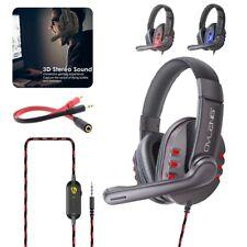 3.5mm Gaming Headset mit Mikrofon over Ear Stereo Headphone