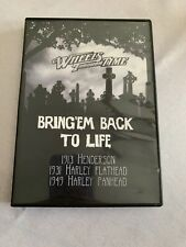 WHEELS THROUGH TIME MOTORCYCLE MUSEUM DVD BACK TO LIFE 13 HENDERSON 31&49 HARLEY