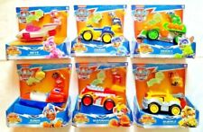 Paw Patrol MIGHTY PUPS SUPER PAWS Deluxe Vehicle Zuma Skye Marshall Chase Rocky+