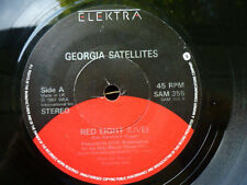 GEORGIA SATELLITES = RED LIGHT (LIVE) / NO MONEY DOWN (LIVE) - ELEKTRA 1987 -