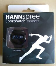 SW68SD12 Hannspree Sports watch, OLED Display, Pedometer, Weight Loss Tracker ++