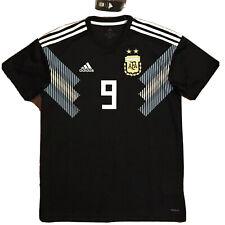 2018 Argentina Away Jersey #9 ICARDI Medium World Cup Soccer ALBICELESTE NEW