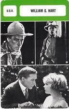 FICHE CINEMA :  WILLIAM S HART -  USA (Biographie/Filmographie)