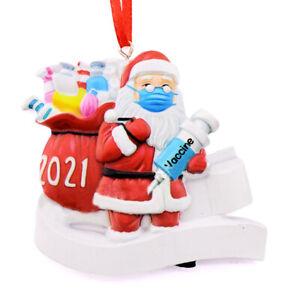 2021 Christmas Ornament Quarantine Decoration Xmas tree Hanging Pendant Ornam HO