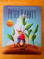 SIGNED 1ST EDITION of PETER RABBIT by BEATRIX POTTER & CINDY THORNTON. FIRST.