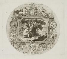 PROBST(*1721), Emblem, Herkules häutet den Nemeischen Löwen, um 1750, KSt