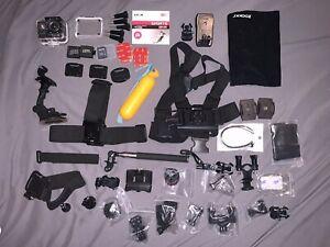 SJCAM SJ4000 1080P Full HD Action Sports Camera 32 GB SD + Tons Of Accessories