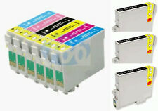 9 INKS FOR EPSON R200 R220 R300 R340 RX500 RX600 RX620