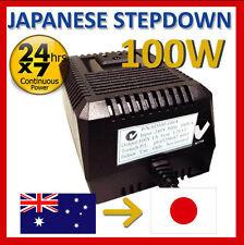 100 Watt Japanese stepdown transformer auto 240v to 100V SD100-100A