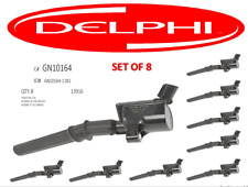 DG508 DELPHI For Ford Lincoln EXPEDITION F-150 F-250 GN10164 Ignition Coil SET 8