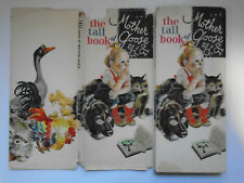 The Tall Book of Mother Goose, Feodor Rojankovsky, DJ, Harper & Row, 1960s