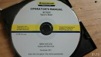 NEW HOLLAND BC5050 BALER SQUARE OPERATORS MANUAL ON CD DN124