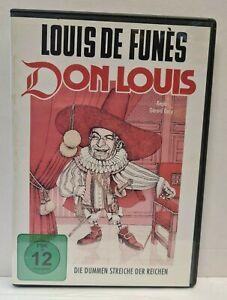 DVD - Louis de Funés - Don Louis - Die dummen Streiche der Reichen - FSK 12