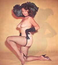 Model nude girl art photo print big busty breasts legs leggy picture BONNIE-22X0