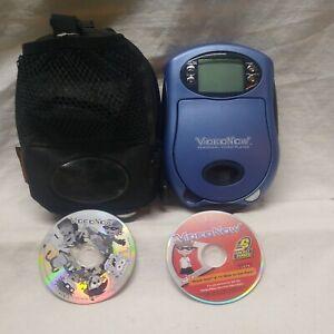Video Now Player +Case 2 Discs Inc.rocket power + nickelodeon works Hasbro 2003