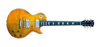 Paul Kossoff's 1959 Sunburst Gibson Les Paul Greeting Card, DL Size