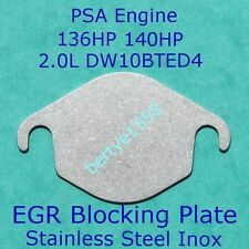EGR valve blanking plate Ford 2.0 TDCi Peugeot 2.0HDi Citroen 2.0 HDi Volvo S/S