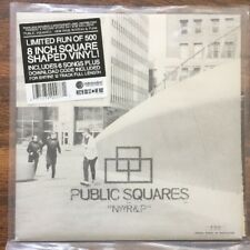"Public Squares - NWR&P 8"" EP [Vinyl New] Ltd /500 Square Shape RSD New Wave/Punk"