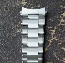 Oyster watch bracelet 20mm solid steel links looks like 1960s/70s riveted bands