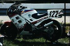 Org Photo Slide 1987 Racing Motorcycle VFR 750 Honda dunlop 122
