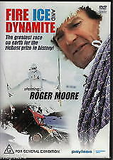 Fire Ice and Dynamite (DVD) Roger Moore - Region 4 - New and Sealed