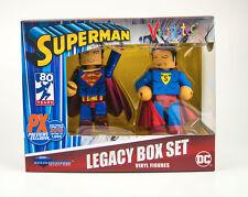 SDCC 2018 Superman 80th Anniversary Vinimate Exclusive 2-Pack DC Comics Legacy