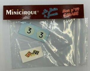 ** DEC290 - Corgi Toys 227 - Décal pour Minicooper N°3