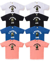 98846eaa [S-3XL] A BATHING APE Men's 1ST CAMO COLLEGE TEE 8colors From Japan