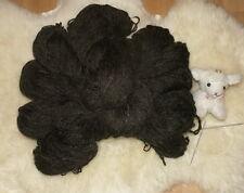Schafwolle Schurwolle Strickgarn Naturprodukt 1000g Wolle schwarz