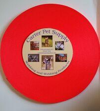 Carter Pet Supply  1 Inch Blaze Orange  Heavy Nylon Webbing, 5 Yards USA MADE