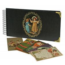 """Classeur pour 72 cartes postales """"Nostalgie""""."""