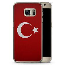 Samsung Galaxy S7 edge - Hard Case Hülle - Türkiye Turkey Türkei Neu Flagge Mot