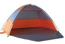 NALU Orange Beach Shelter Tent 2-3 Person Aluminium Frame Sun Protection Fishing