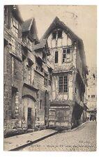 rouen maison du XVe siècle  rue saint-romain (a0116)