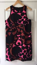 NEW Ann Taylor Tulip Halter Shift Dress Size 12P Petite Black Pink Career Work