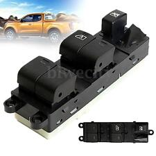 Black Electric Power Car Window Master Control Switch For Nissan NAVARA 2007 New