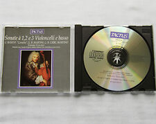 ENSEMBLE CONCERTO Sonatas for 1,2 & 3 cellos & continuo CD TACTUS TC 680001(1992