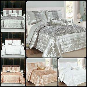 New Modern Designs Top Quality SAVIO 3 Piece Bedspread / Comforter set