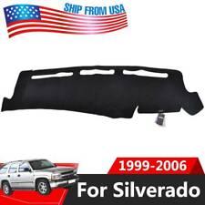 Dash Cover Dashboard Mat For Chevy Silverado 1500 2500 Tahoe 2001-2006 2004 2005